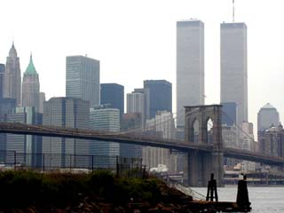 Brooklyn Bridge and World Trade Center
