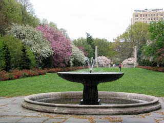 Osborne Garden Fountain, Brooklyn Botanic Garden