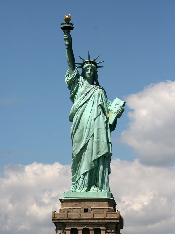 Statue of liberty liberty enlightening the world