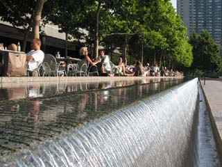 World Financial Center Fountain