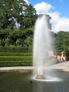 Geyser Fountain of the Conservatory Garden