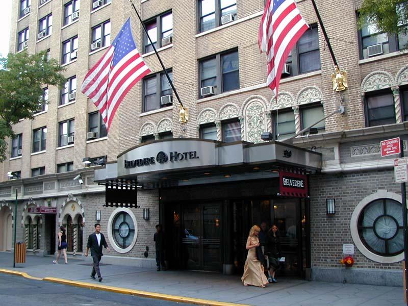 Belvedere Hotel New York Map