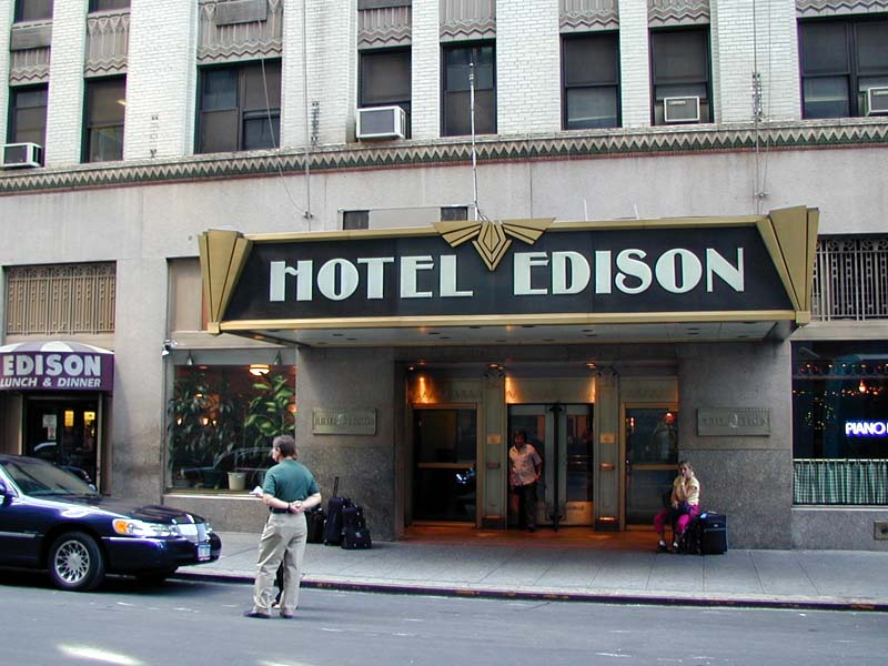 The Edison Hotel | Wired New York