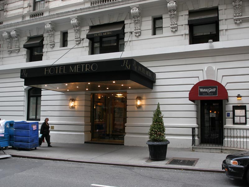 Hotel Metro Wired New York