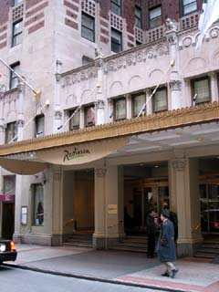Radisson Lexington Hotel New York