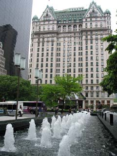 GM Building Fountain
