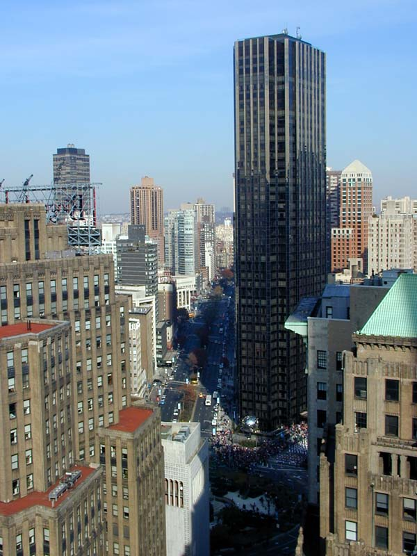 The view on Trump International Hotel and Tower from the roof of ...
