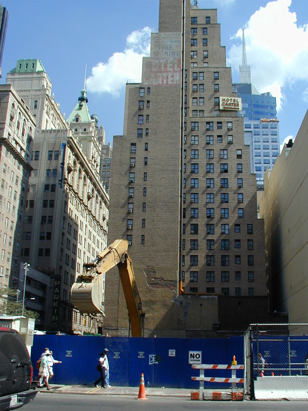the westin new york at times square hotel construction. Black Bedroom Furniture Sets. Home Design Ideas