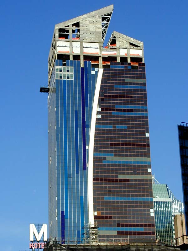 the westin new york at times square hotel construction pictures