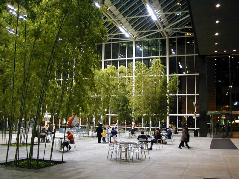Ibm building wired new york for Indoor gardening nyc