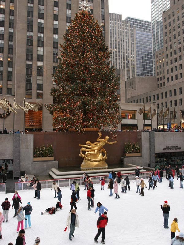 Xmas tree at Rockefeller Center