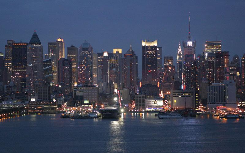 new york skyline view - photo #2