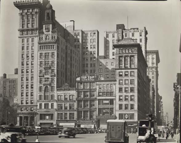 Downtown Manhattan skyline, 1931