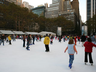 Bryant Park - Ice Skating