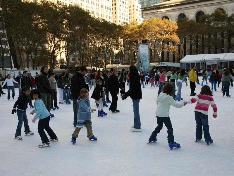 Bryant Park – Ice Skating.