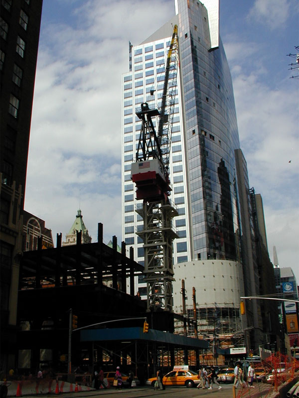 5 Times Square – Construction | Wired New York