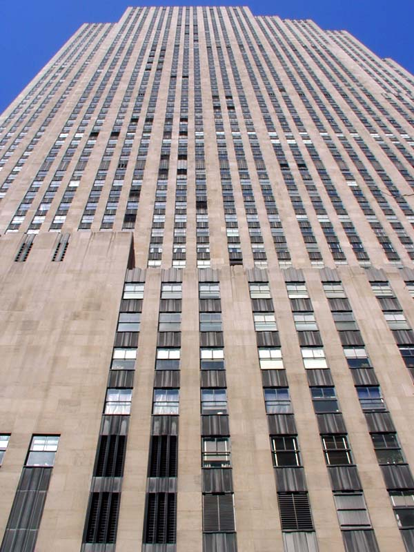 Tallest Building In New York >> GE Building | Wired New York