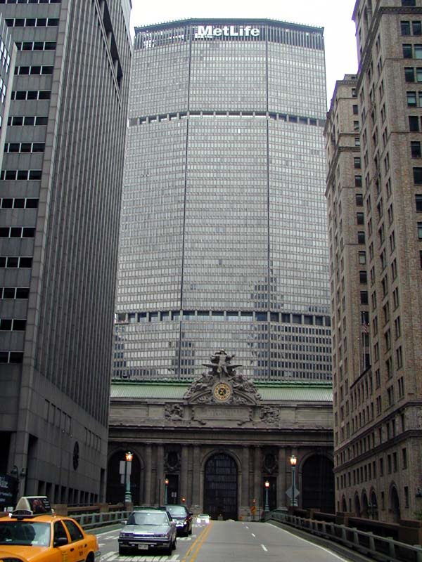 Metlife Building Pan Am Building Wired New York