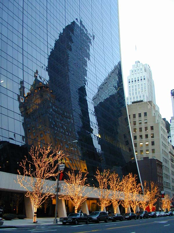 The view on the solow building from 57th street