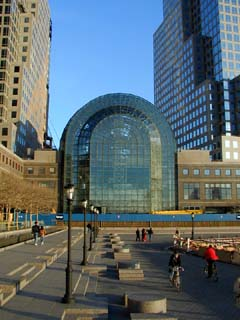 Winter Garden of World Financial Center