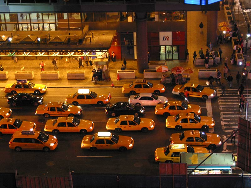 New York Taxi Wired New York