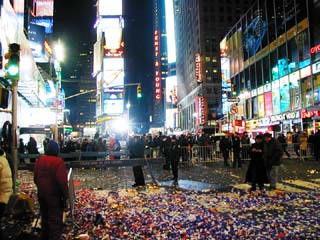 New Year Celebrations in Times Square