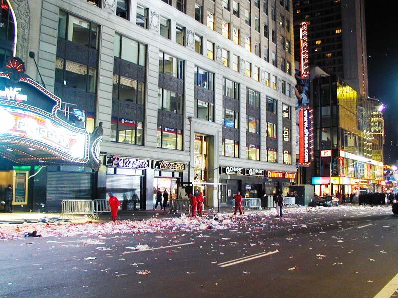 Ball Drop Times Square