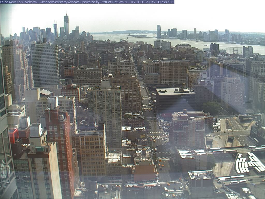 Webcam New York - Hudson river