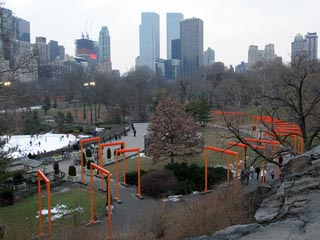Christo: The Gates, Central Park, New York
