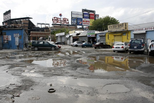 The Iron Triangle in Queens, Willets Point Boulevard