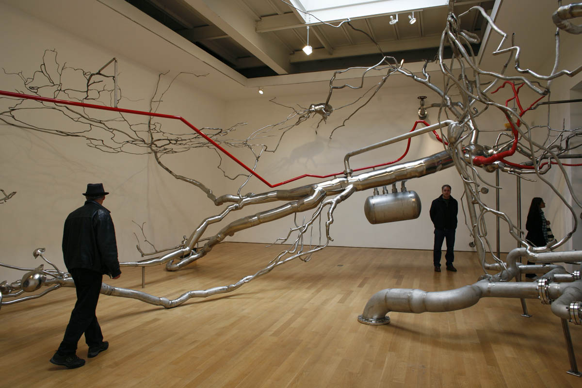 Roxy Paine at James Cohan Gallery