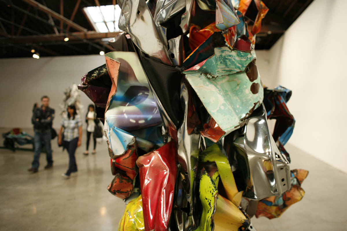 John Chamberlain at Pace Gallery