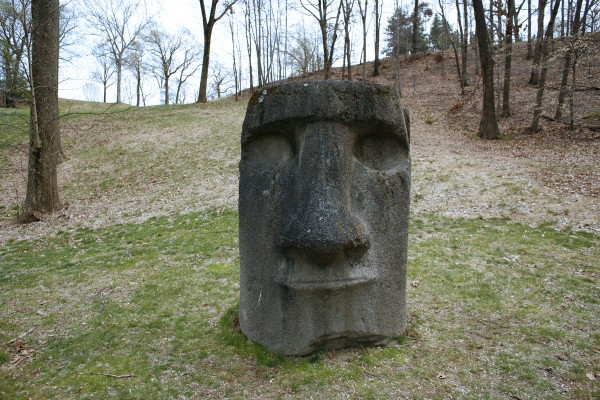 Easter Island Head at Storm King Art Center